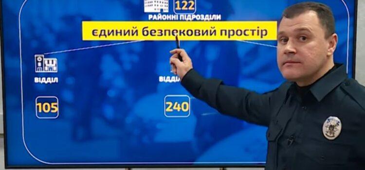Нова структура та скорочення посад: Ігор Клименко розповів про реформу Національної поліції.